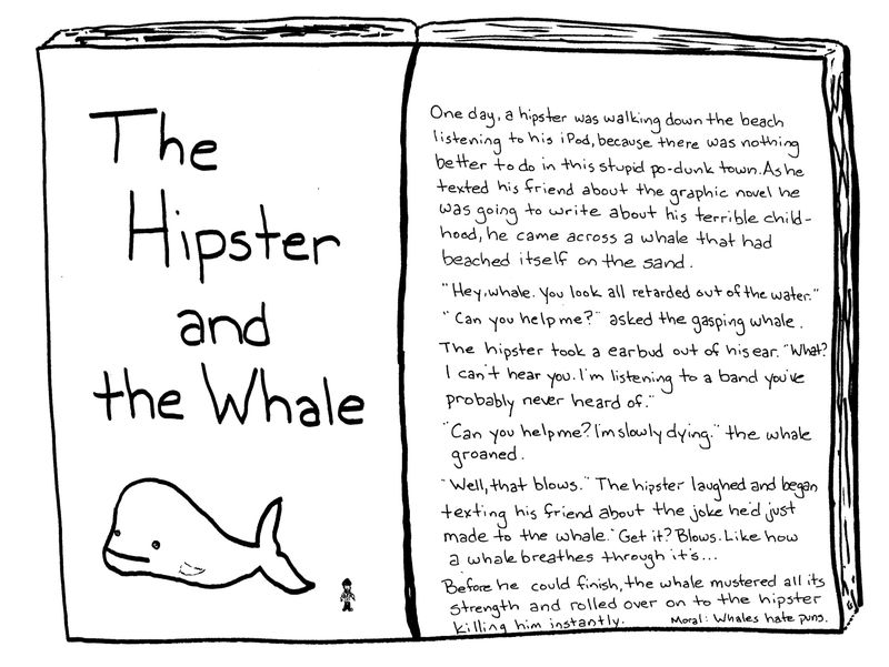 Hipsterwhale