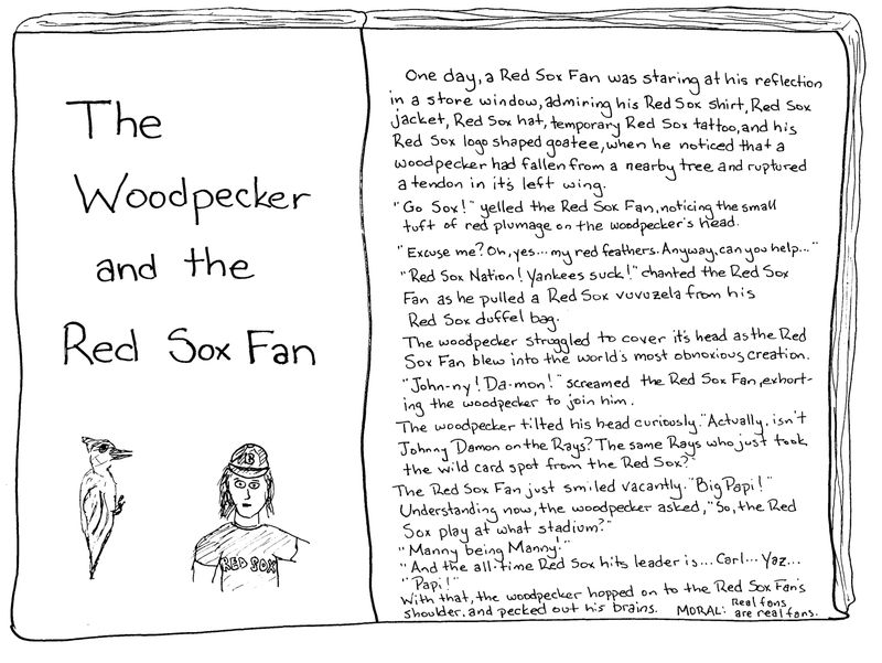 Woodpeckerredsoxfan
