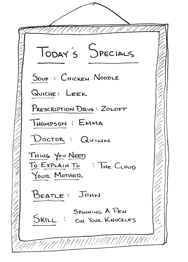 Todaysspecials