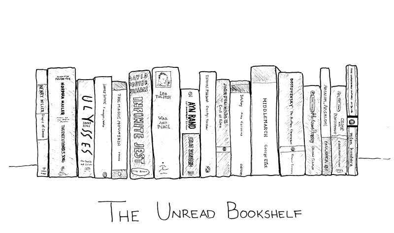 Unreadbookshelf